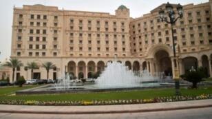فندق ريتز-كارلتون في الرياض في 21 ايار/مايو 2017