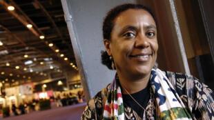 L'écrivaine ivoirienne Véronique Tadjo, le 17 mars 2006 à Paris.