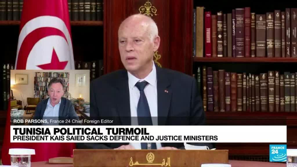 2021-07-27 08:05 Tunisia on edge as president suspends parliament, fires PM