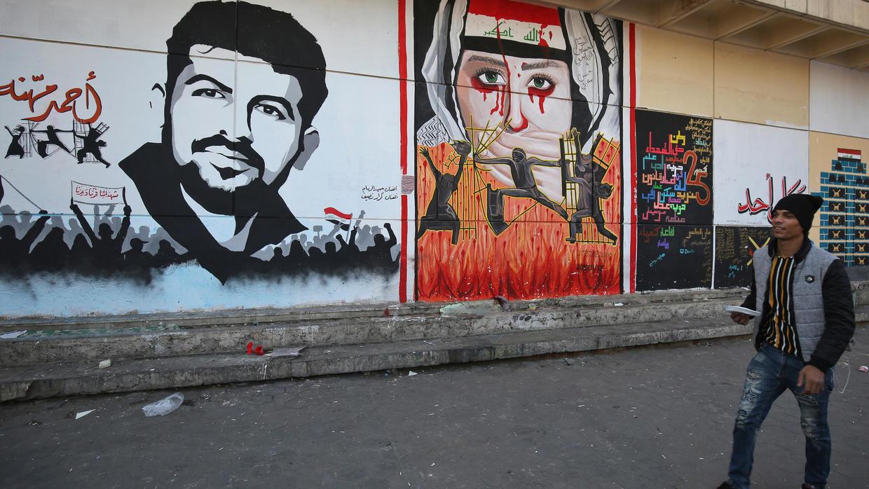 من أحد شوارع مدينة الناصرية في العراق
