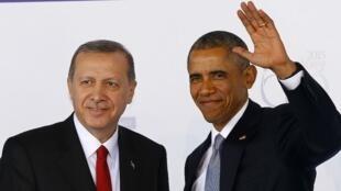 أوباما إلى جانب أردوغان
