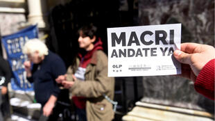Varias protestas recorrieron Buenos Aires, Argentina, el pasado 4 de septiembre de 2019 para pedir medidas contra la crisis económica