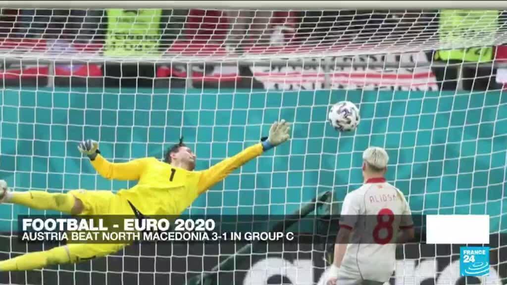 2021-06-13 23:52 Euro 2021: Austria beat North Macedonia 3-1 in Group C