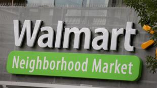 Un supermarché Walmart