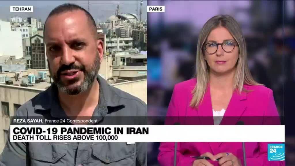 2021-08-20 09:05 Iran's Covid-19 death toll rises above 100,000