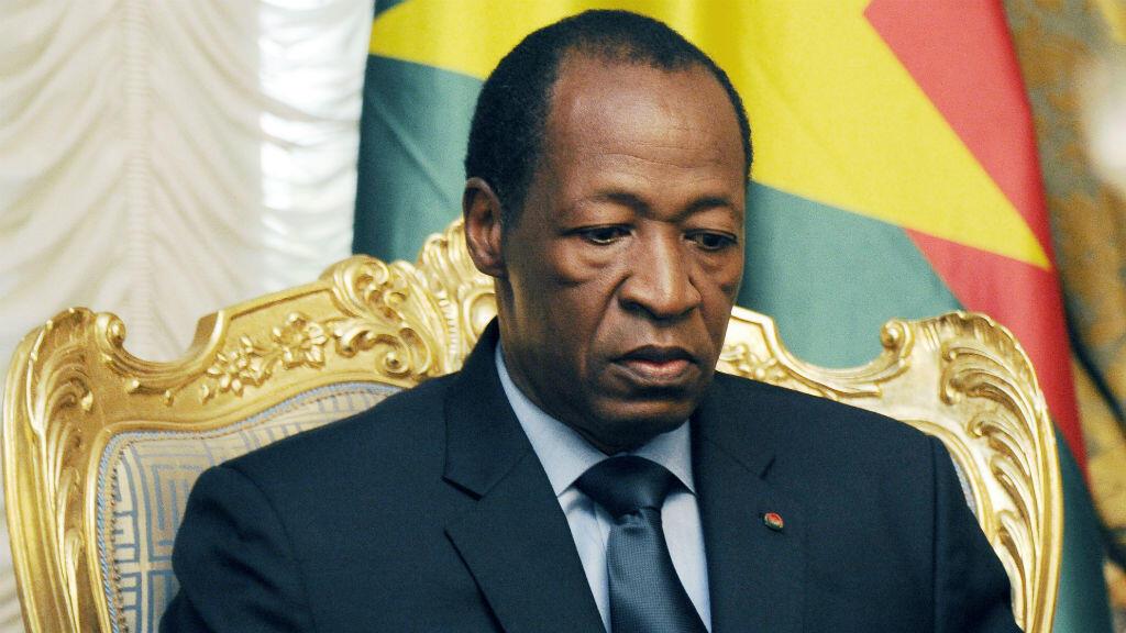 L'ex-président du Burkina Faso, Blaise Compaoré, déchu en octobre 2014.