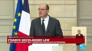 2020-12-09 13:24 REPLAY - French govt defends anti-extremism bill as 'law of freedom'