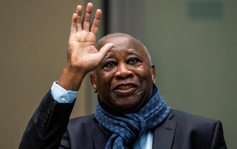 L'ancien président ivoirien Laurent Gbagbo à la Cour pénale internationale à La Haye, aux Pays-Bas, le 6 février 2020.