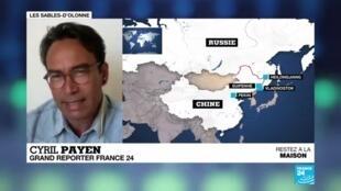 """2020-04-17 13:04 Coronavirus : La frontière sino-russe, """"nouveau front"""" contre le virus"""