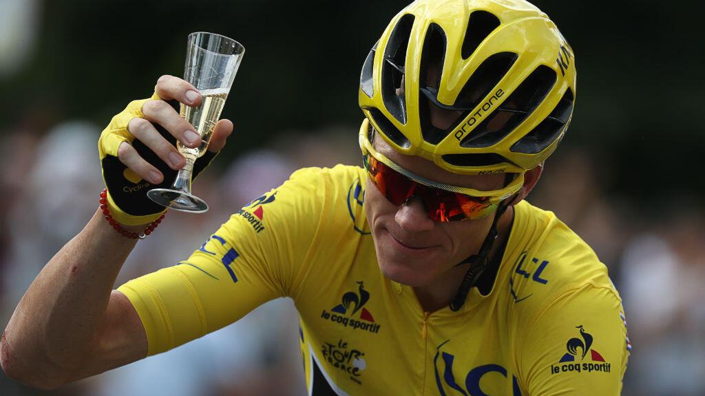 Chris Froome, vainqueur de l'édition 2016 du Tour de France.