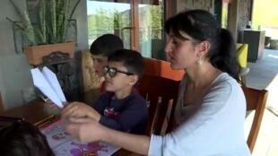 استقبلت مدينة غوريس الأرمينية العديد من اللاجئين الفارين من الحرب في ناغورني قرة باغ