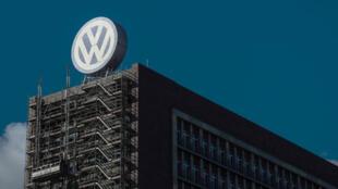 Photo d'archive montrant le siège social de Volkswagen à Wolfsburg, en Allemagne, le 30 septembre 2015.