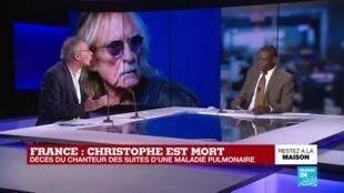 """2020-04-17 09:01 La nuit s'est refermée sur Christophe, """"chanteur atypique"""""""