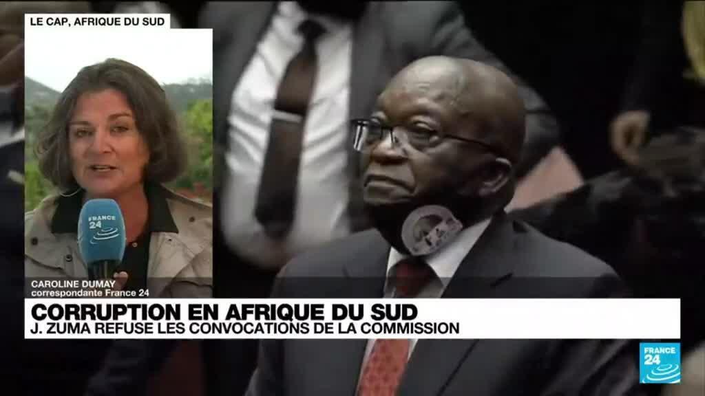 2021-06-29 13:40 Afrique du Sud : 15 mois de prison pour Jacob Zuma pour outrage à la justice