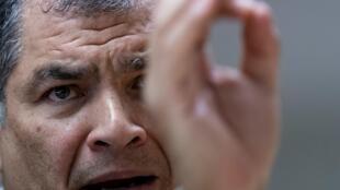 El expresidente ecuatoriano Rafael Correa  siente como suya la victoria de Andrés Arauz en los comicios del domingo, pero niega que sea su títere o su boleto de regreso al país