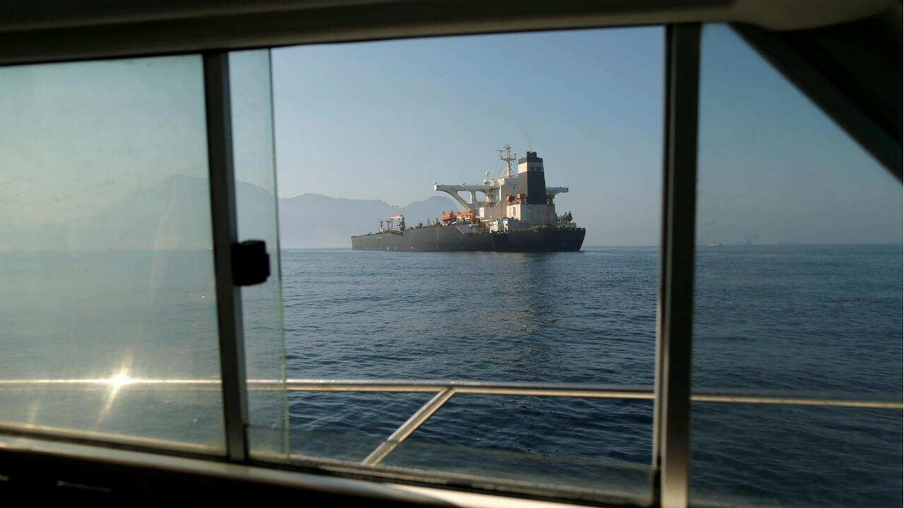 Le pétrolier iranien Grace1 a changé de nom et a retiré son drapeau panaméen.