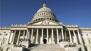 El Capitolio de Estados Unidos, durante un cierre parcial del Gobierno de los EE. UU., El 26 de diciembre de 2018 en Washington, D.C.