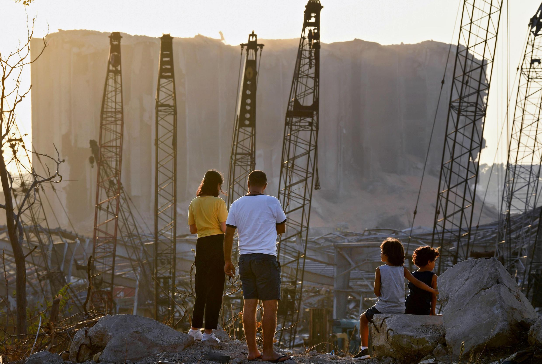 مرفأ بيروت، لبنان في 13 أغسطس/آب 2020.