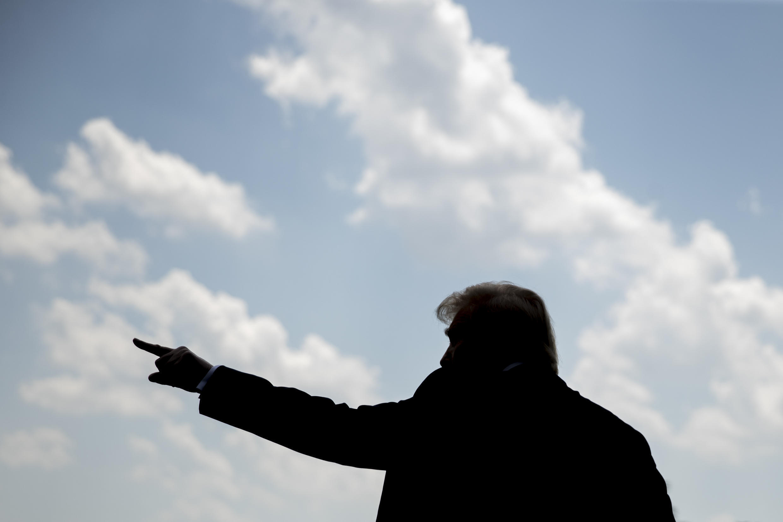 Le président des États-Unis Donald Trump, à la Maison Blanche, à Washington, le 27 juillet 2020.