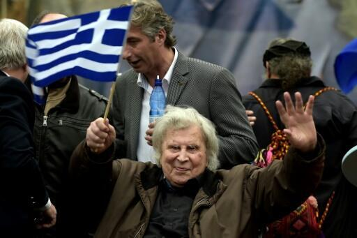 Theodorakis penned what is probably the best-known piece of Greek music, the theme tune to Zorba, an instrumental which is still played and danced to around the world.
