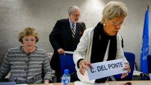 Carla Del Ponte est membre de la Commission d'enquête de l'ONU sur la Syrie depuis 2012.