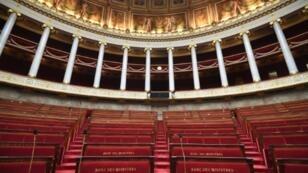الجمعية الوطنية الفرنسية في باريس في 26 حزيران/يونيو 2017