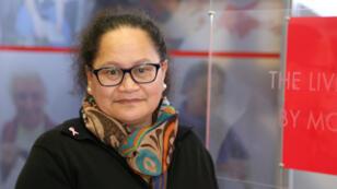 صورة للممرضة النيوزيلندية لويزا أكافي نشرها الصليب الأحمر في 14 أبريل/نيسان 2019