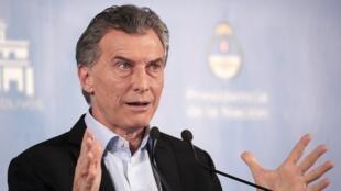 Mauricio Macri, se enfrenta a un año electoral en medio de la implementación de políticas de austeridad.