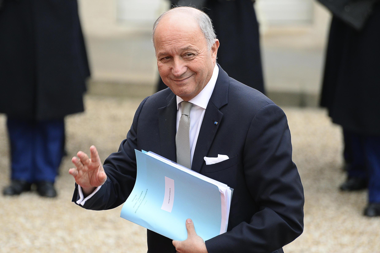 L'ancien chef de la diplomatie, Laurent Fabius.