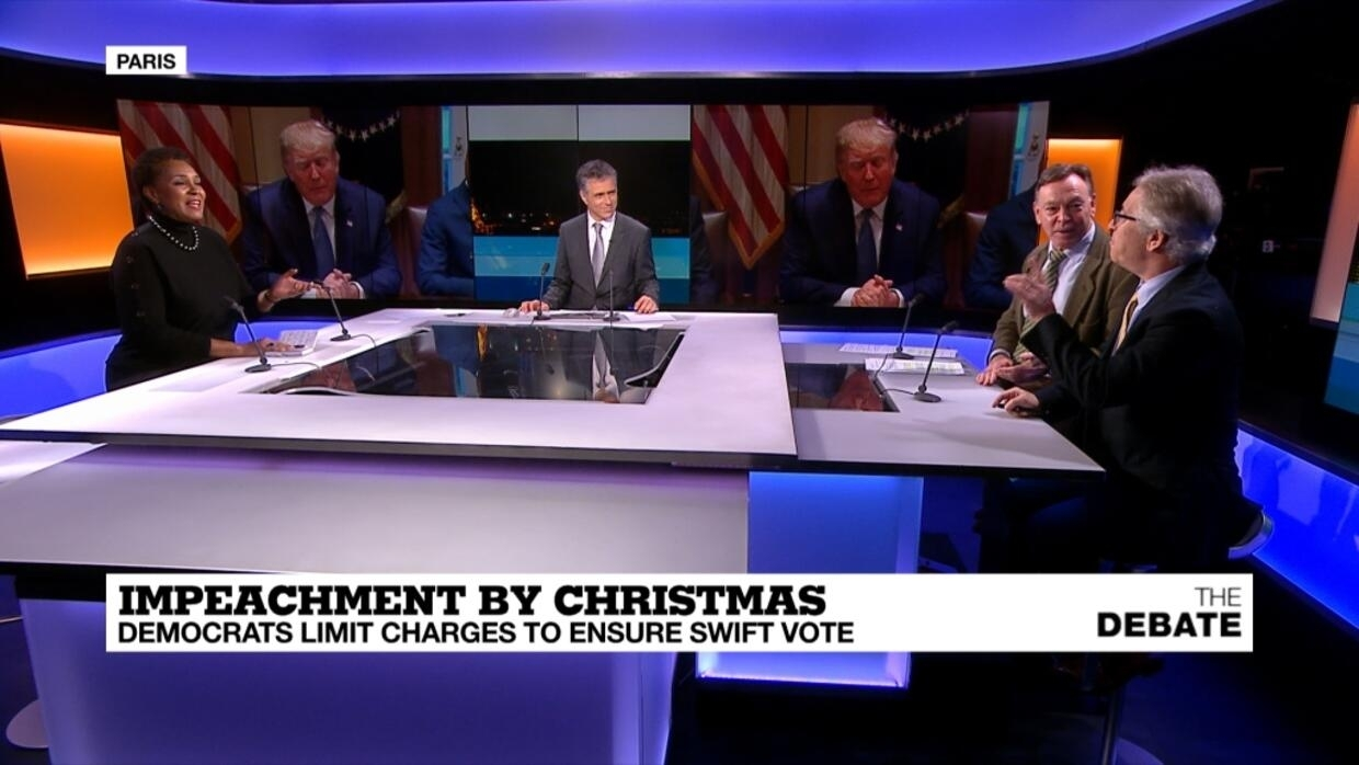 The Debate - Impeachment by Christmas: Democrats limist charges to ensure swift vote