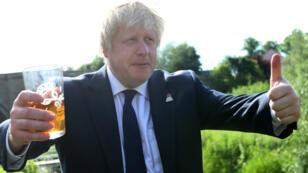 Le député britannique et ancien maire de Londres, Boris Johnson, le 22 juin 2016.