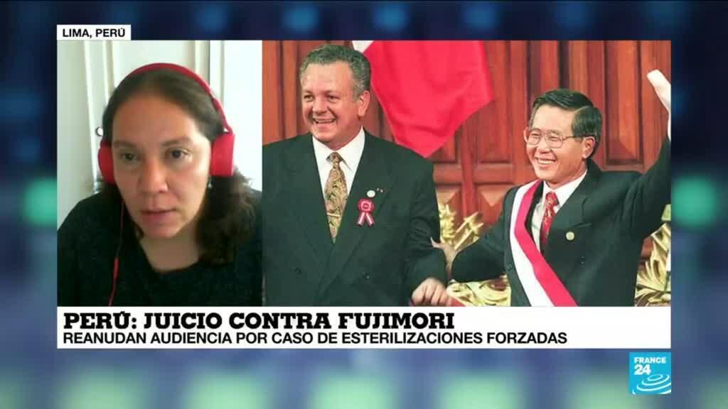 """2021-02-28 13:39 Camila Gianella: """"Juicio a Fujimori por esterilizaciones forzadas es un hito histórico"""""""