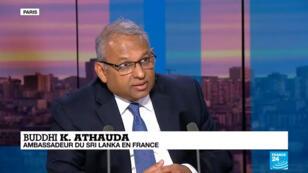 Buddhi K. Athauda, ambassadeur du Sri Lanka en France.