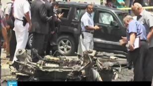 التفجير الذي أودى بحياة النائب العام هشام بركات في القاهرة في 29 حزيران/يونيو 2015