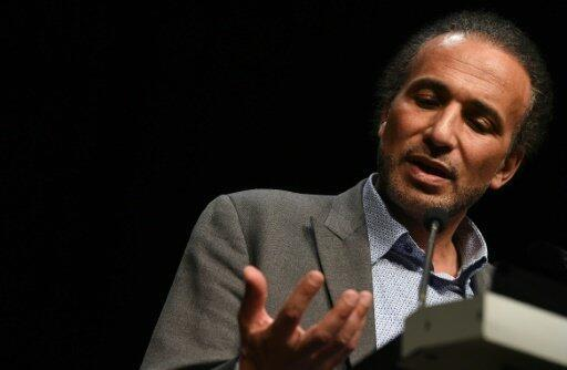 L'islamologue suisse Tariq Ramadan, le 26 mars 2016 à Bordeaux.