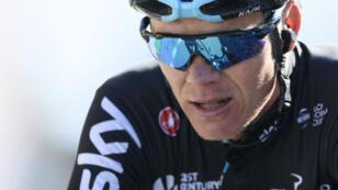 Christopher Froome victime d'un accident dans le Sud de la France