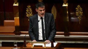 Le premier secrétaire du Parti socialiste, Olivier Faure, le 5 décembre 2018, à l'Assemblée nationale.