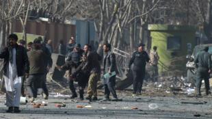 L'explosion à Kaboul d'une ambulance piégée a été revendiquée par les Taliban.