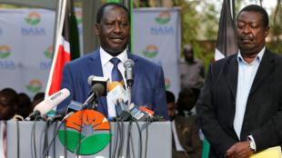 Raila Odinga, líder de la alianza opositora Nasa.