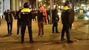 مظاهرات في روتردام
