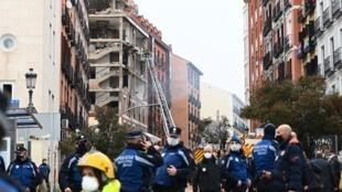 Explosión en Madrid. 20/01/2021