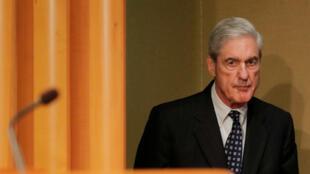 El exfiscal especial de Estados Unidos, Robert Mueller, hace una declaración sobre su investigación de la llamada trama rusa en el Departamento de Justicia de Washington D. C., EE. UU., el 29 de mayo de 2019.