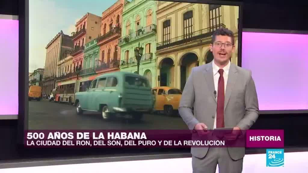 2019-11-12 00:45 La Habana, la bella capital de Cuba, cumple 500 años.