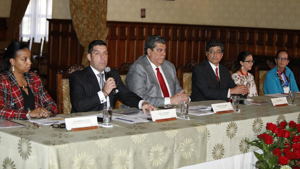 Ecuador anuncia su salida de la ALBA en respuesta a la crisis de Venezuela en Quito, Ecuador, el 23 de agosto de 2018.