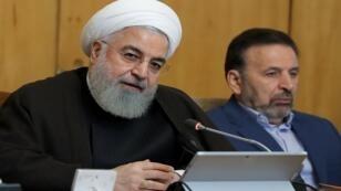 الرئيس حسن روحاني يترأس اجتماعا لمجلس الوزراء في طهران - 10 يوليو/تموز 2019.