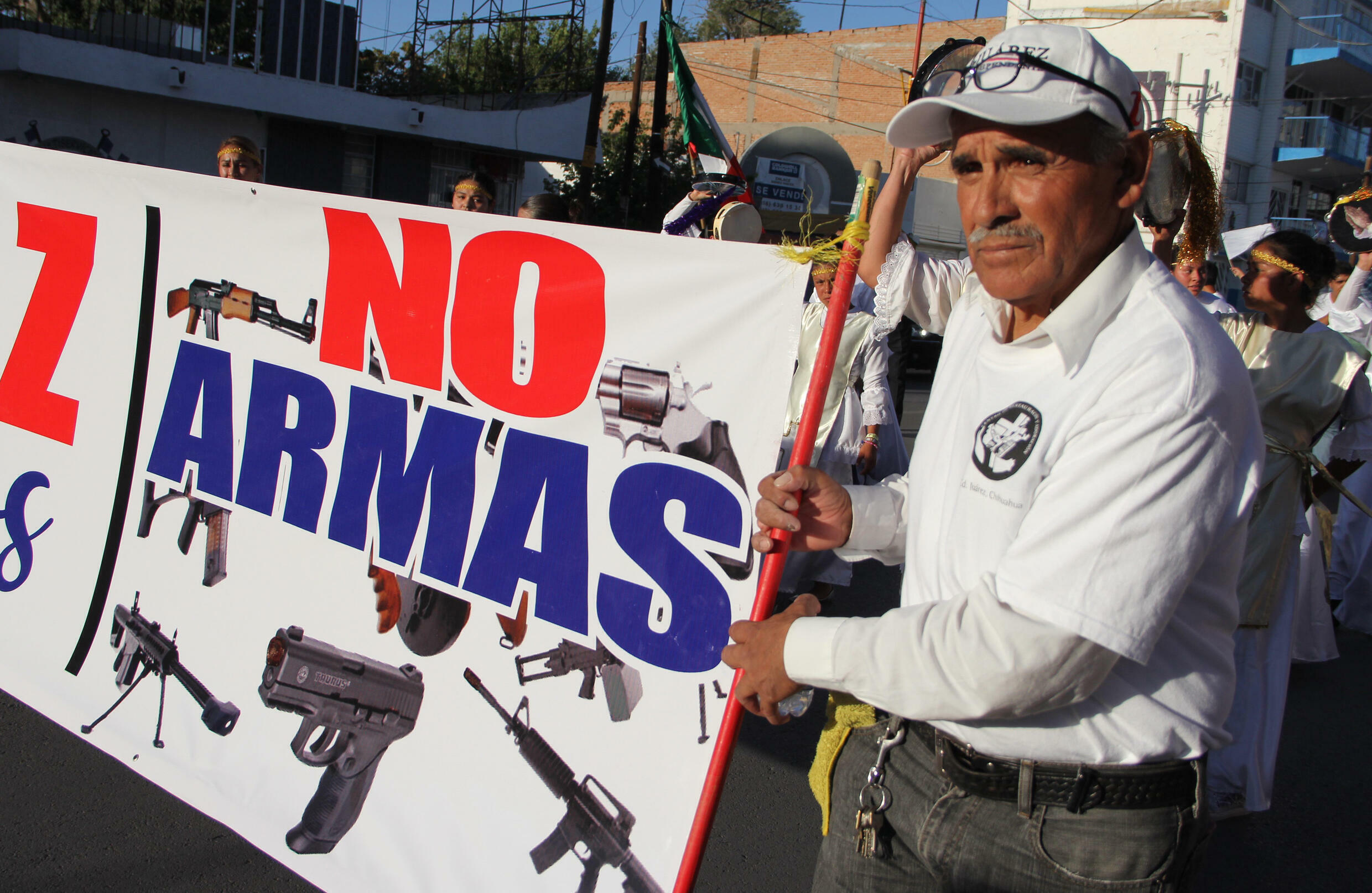 Mexico has seen more than 300,000 murders since 2006, prompting public protests against firearms