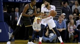 New Orleans star Anthony Davis will miss the next one to two weeks of the NBA season with a sprained left index finger