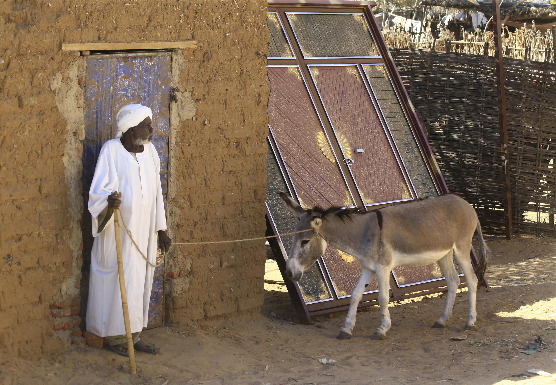 Le camp d'Abu Shouk pour les personnes déplacées dans la région du Darfour déchirée par la guerre au Soudan, en novembre 2019.