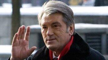 L'ancien président ukrainien Viktor Iouchtchenko