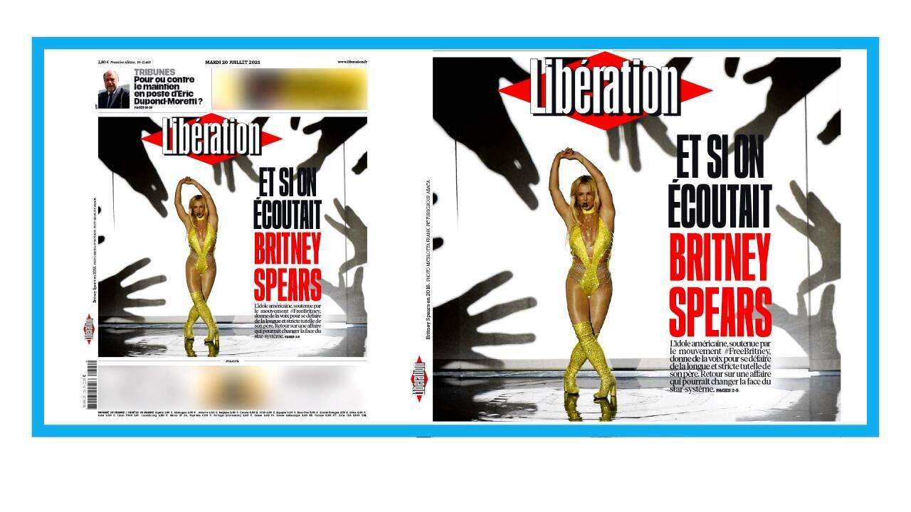 Le quotidien français Libération exprime son soutien envers Britney Spears